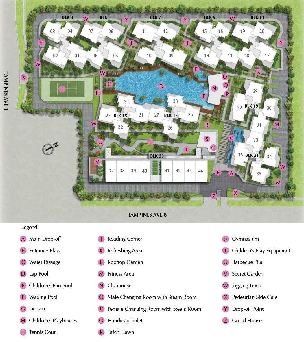 Tampines Ec Floor Plan